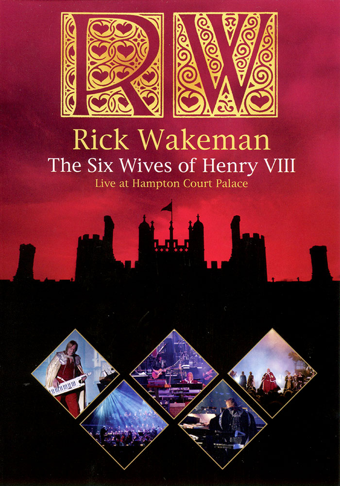 The Six Wives of Henry VIII Live at Hampton Court Palace DVD