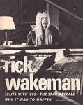 Rick Wakeman Magazine Photo