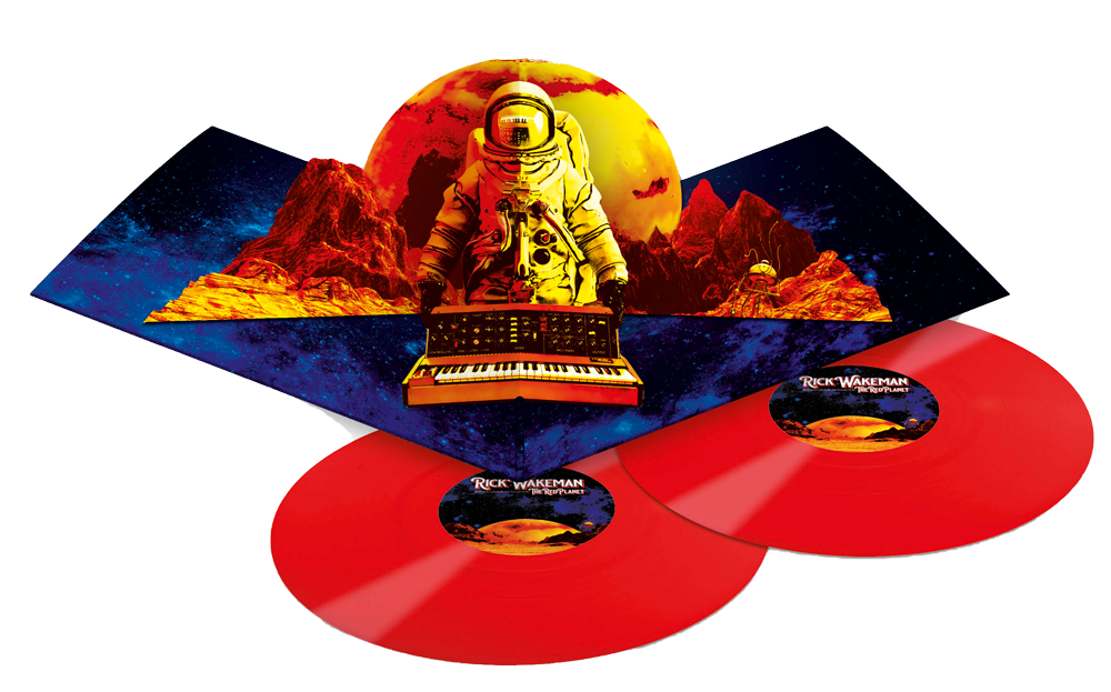 The Red Planet Vinyl